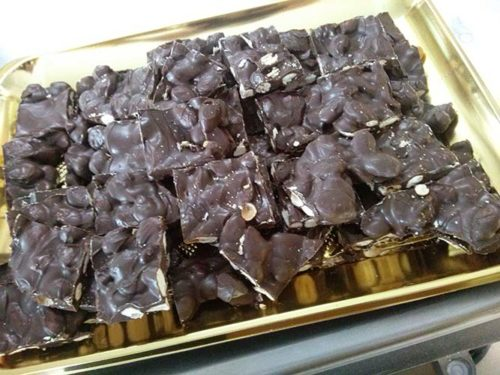 Torroncini al cioccolato - vassoio da Kg. 1