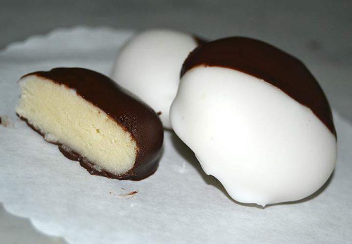 Pasta reale al cioccolato