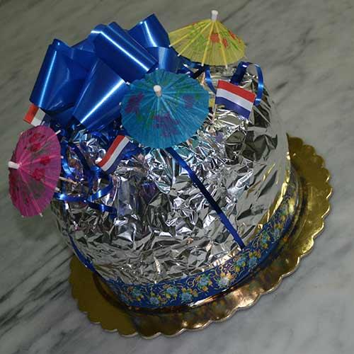 Pan Brioche senza Uova confezionato per feste e ricorrenze