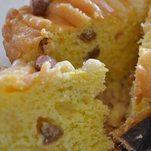 Colomba senza glutine - consistenza soffice e legegra