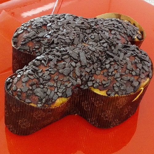 Colomba senza glutine - gocce di cioccolato