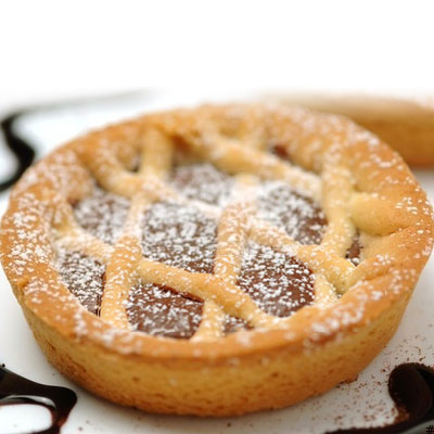 Crostatina al cioccolato senza glutine
