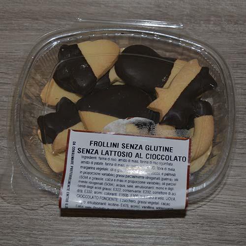Frollini al cioccolato senza glutine