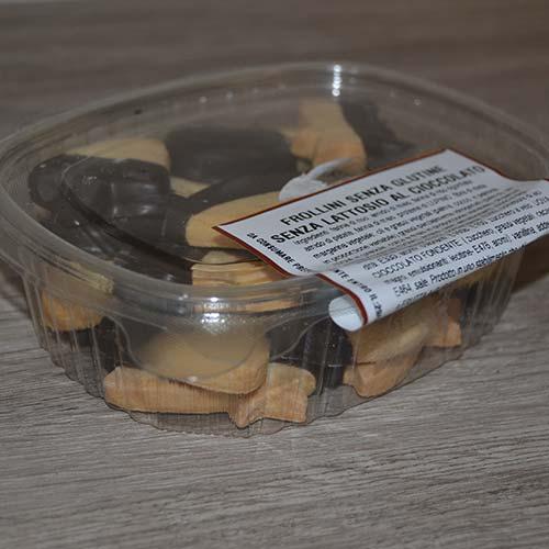 Confezione 200 gr Frollini al cioccolato senza glutine