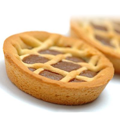 Crostatina al cioccolato senza glutine e senza lattosio