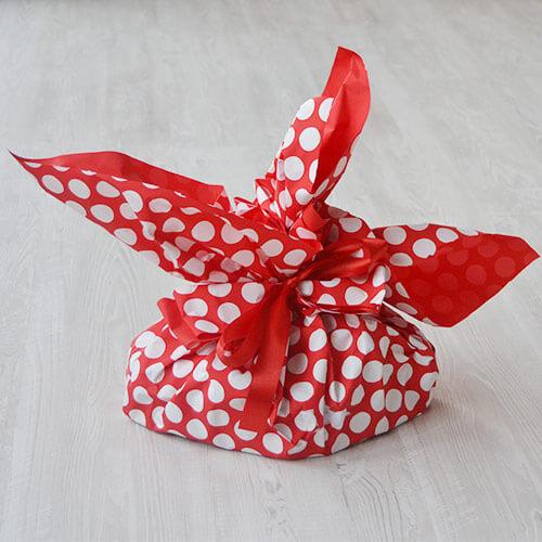 Colomba di pasqua - confezione pois rossi