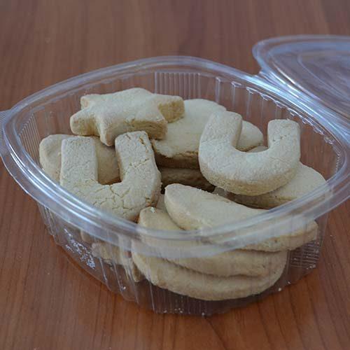 Frollini bianchi senza glutine confezione da 200 gr.