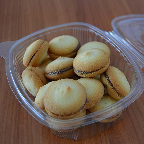 Baci di Dama senza Glutine confezione da 200 gr.