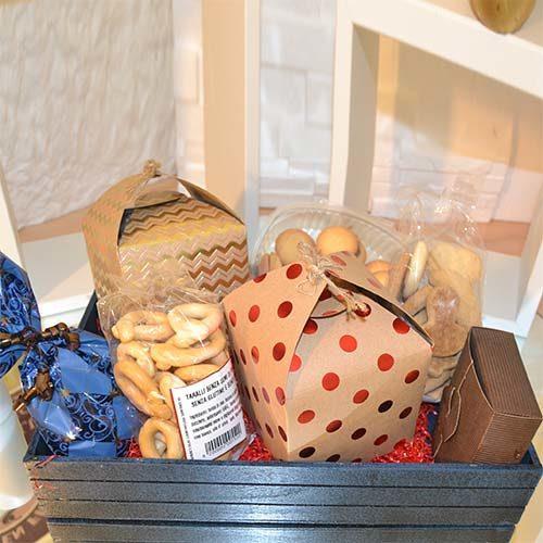 Cesto Natalizio di prodotti senza glutine