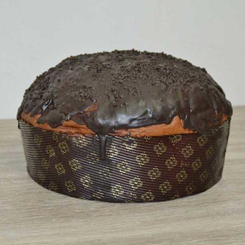 Panettone senza zucchero al cioccolato