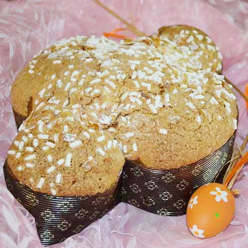Colomba Vegan uvetta