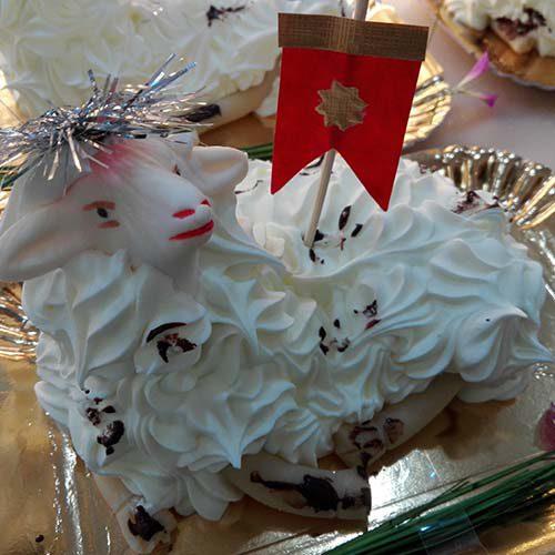 Pecorella di pasta reale