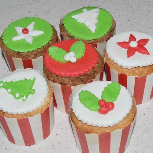 Mini Cupcakes natalizi
