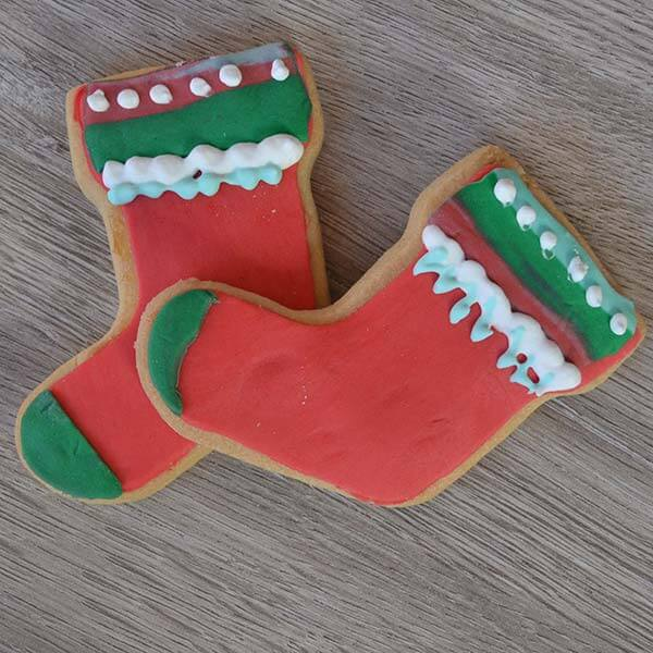 Biscotti calza di Natale - senza Lattosio