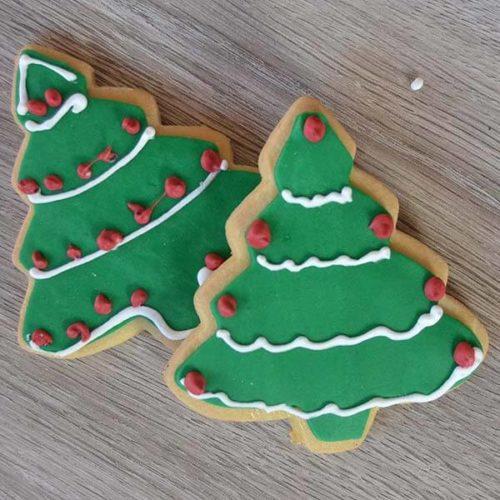 Biscotti albero di Natale - Senza lattosio