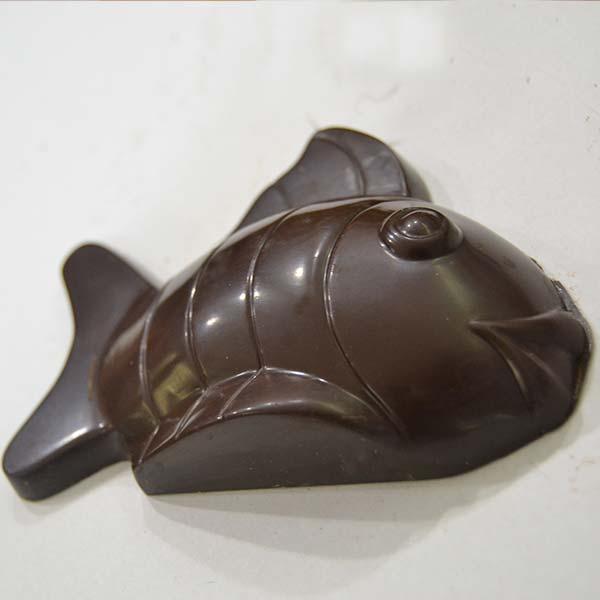 Pesce d'aprile di cioccolato fondente