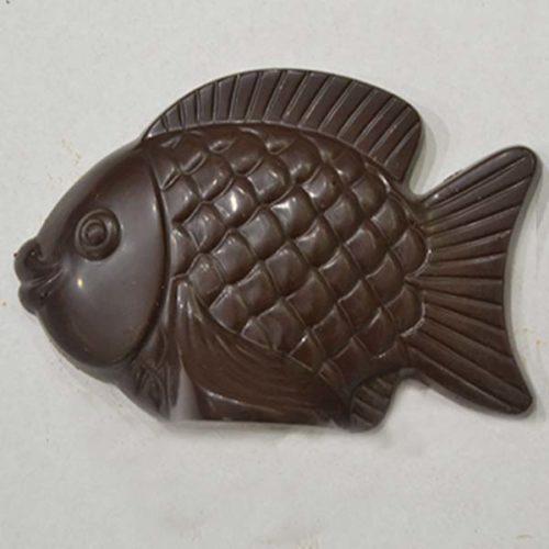 Pesce d'aprile di cioccolato fondente - 100 gr