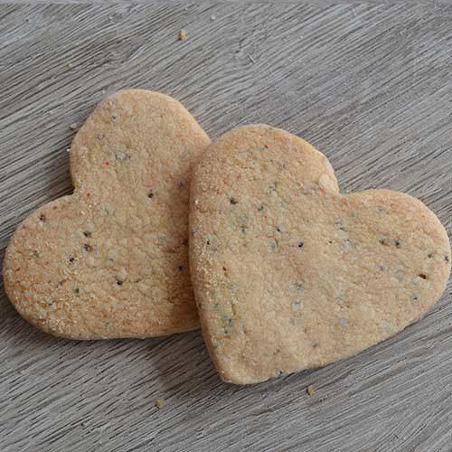 Biscotti Vegani a cuore