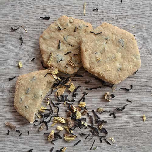 Biscotti Vegani – Tè nero