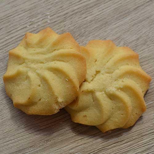 Biscotti Vegani con tuorlo montato