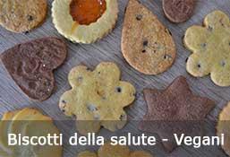 Biscotti della salute - linea Vegana