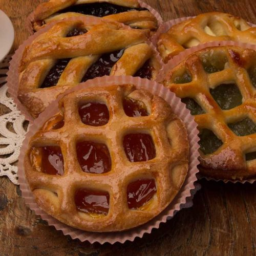 Crostatine senza lattosio alla marmellata - vari gusti