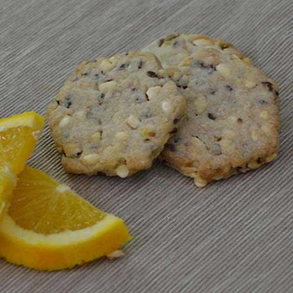 Biscotti multicereali all'arancia - Vegani
