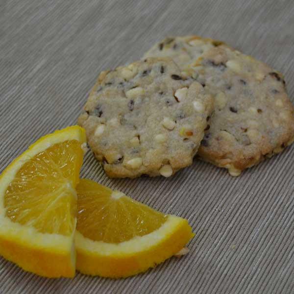 Biscotti ai cereali all'arancia