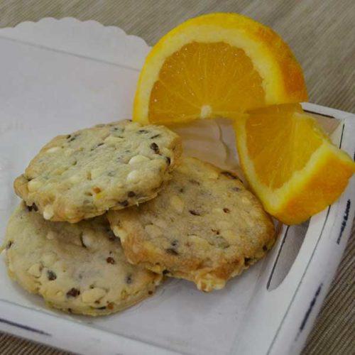 Biscotti ai cereali all'arancia - vegani