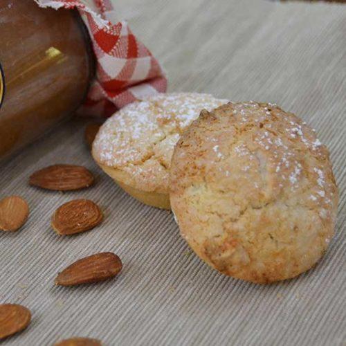 Boconotti senza Lattosio - mandorle e marmellata