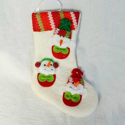Mini Calza pupazzo di neve