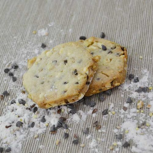 Biscotti Cereali e riso soffiato con Cioccolato