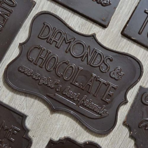 Barretta choccolate e diamonds