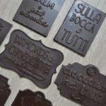 Barrette di cioccolato con Quote