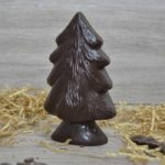 Albero di Natale di cioccolato - certificato senza tracce di latte 60%