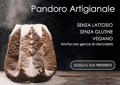 Pandoro artigianale senza glutine senza lattosio vegano