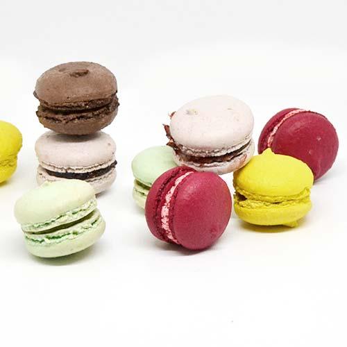 Macarons artigianali multigusto - senza glutine e senza lattosio