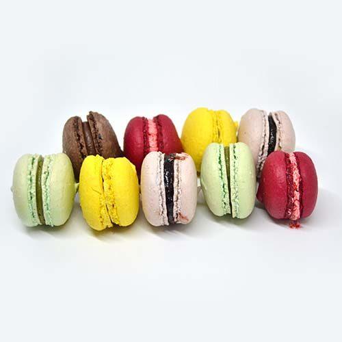 Macarons multigusto - senza glutine e senza lattosio