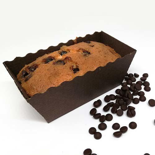 Plumcake senza glutine e senza lattosio - gocce di Cioccolato