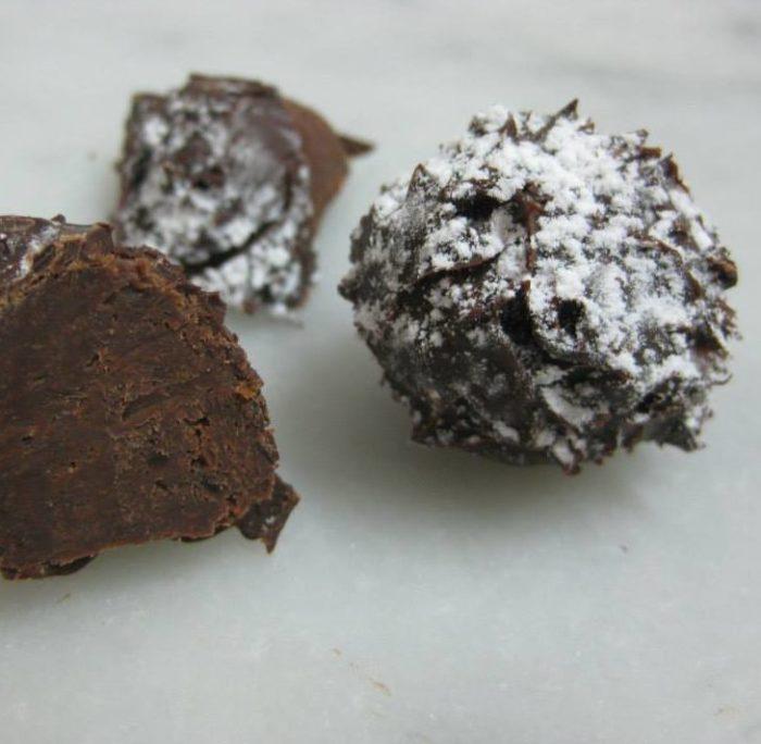 Cioccolatini al moscato di Trani
