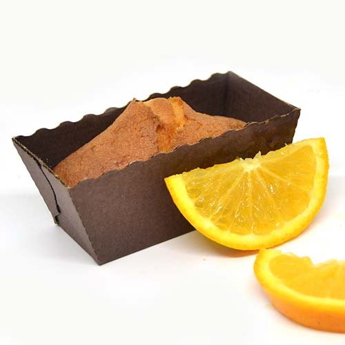 Plumcake senza glutine e senza lattosio - Arancia