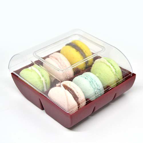 Scatola confezione per 6 macarons