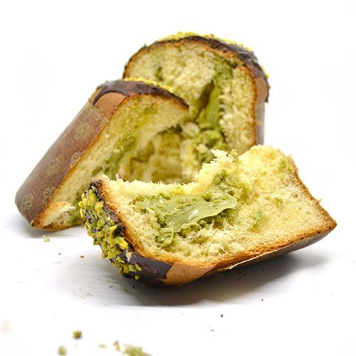 Panettone vegano al pistacchio