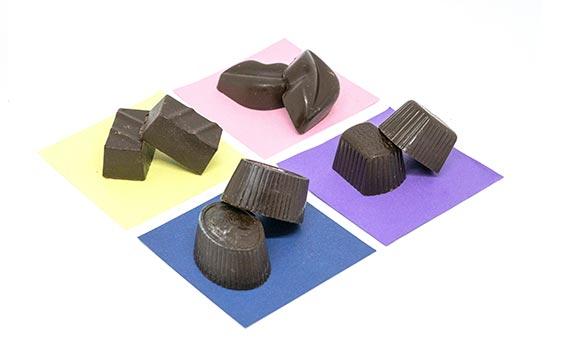 Cioccolatini ripieni - senza glutine e senza lattosio