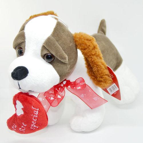 Cucciolo Peluches di san valentino