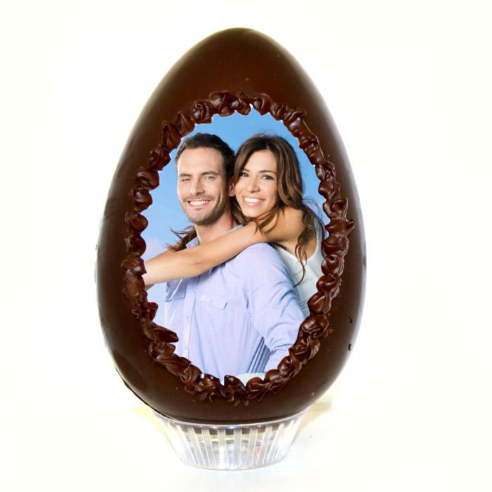 Uovo di pasqua con foto