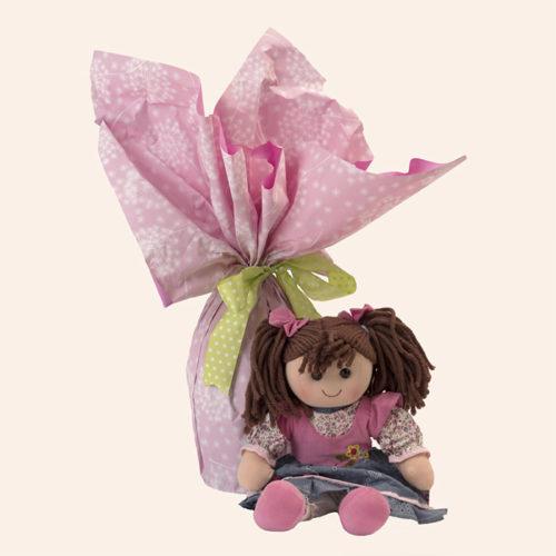 Uova di pasqua cioccolato Fondente con bambola Hello Dolly