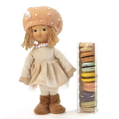 Macarons e bambolina