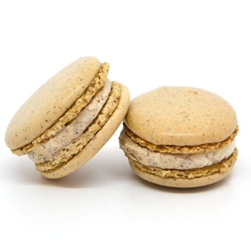 Macarons guscio caffè – crema al caffè