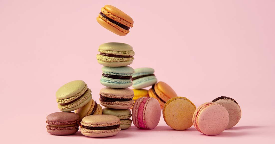Macarons artigianali colorati e buoni - ottima idea regalo